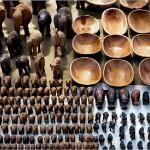 Okahandja - Souvenir in legno