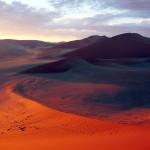 dune deserto namib alba