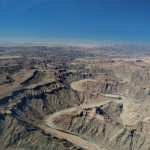 fish river canyon veduta dall'alto