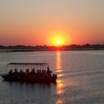 sunset cruise chobe